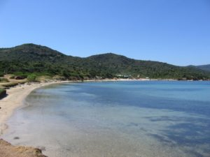 Beaches of South Sardinia Malfatano Cape