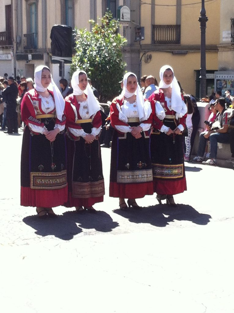 Feast of Sant Efisio - Nuoro costume