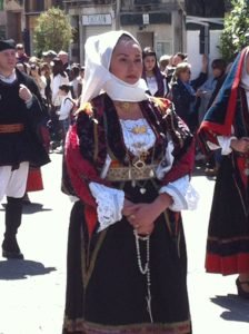 Feast of Sant Efisio - Sardinian old costume