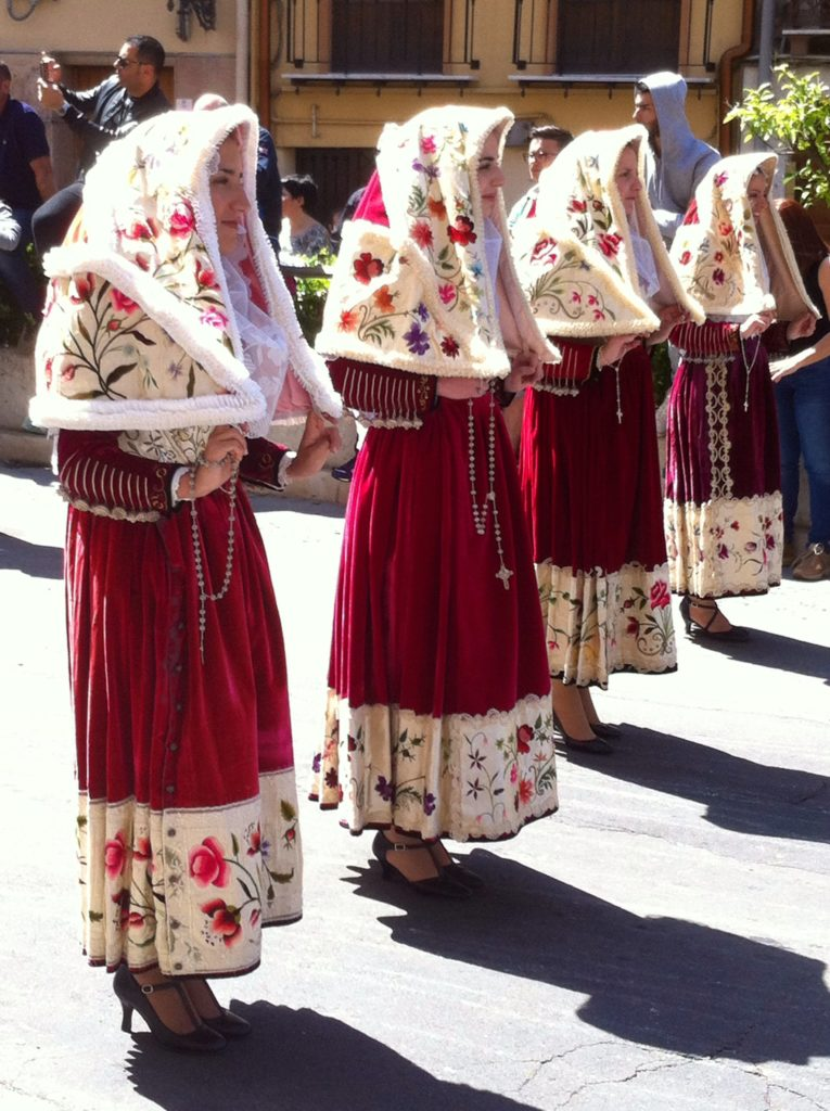 Feast of Sant Efisio - Ittiri costume